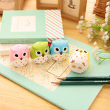 Owl Pencil Sharpener - Kute Kico Kawaii Stationery