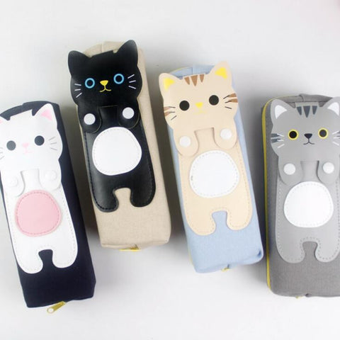 Cat Pencil Case - Kute Kico Kawaii Stationery