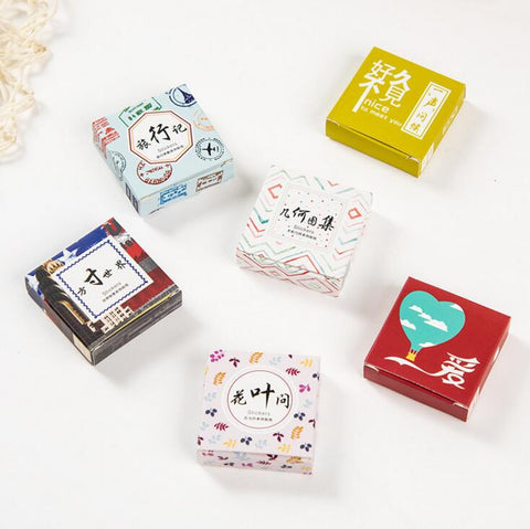 Best of Love Stickers 40 pcs/box - Kute Kico Kawaii Stationery