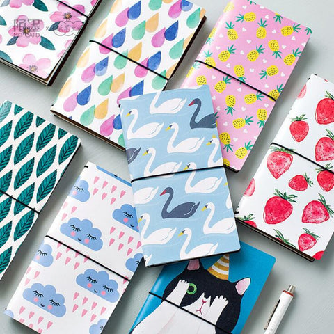 Travel Notebook - Kute Kico Kawaii Stationery