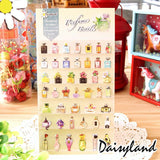 Perfume Bottle Decorative Stickers - Kute Kico Kawaii Stationery
