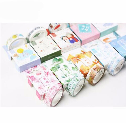 4 Seasons Washi Tape - Kute Kico Kawaii Stationery