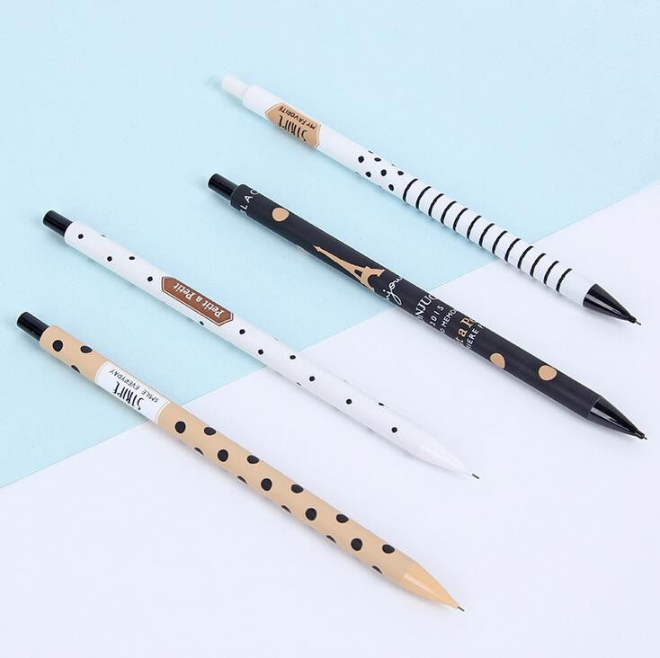 Paris Mechanical Automatic Pencil 0.5mm - Kute Kico Kawaii Stationery