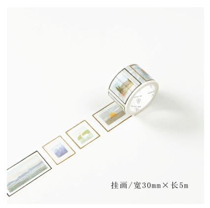 Picture Frame Washi Tape - Kute Kico Kawaii Stationery