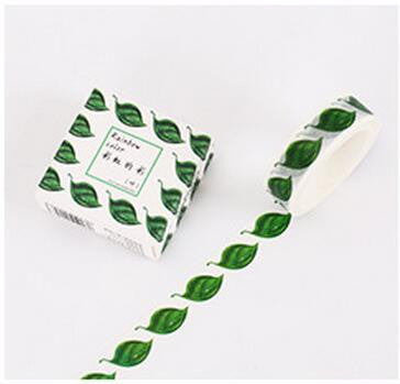 Leaf Washi Tape - Kute Kico Kawaii Stationery