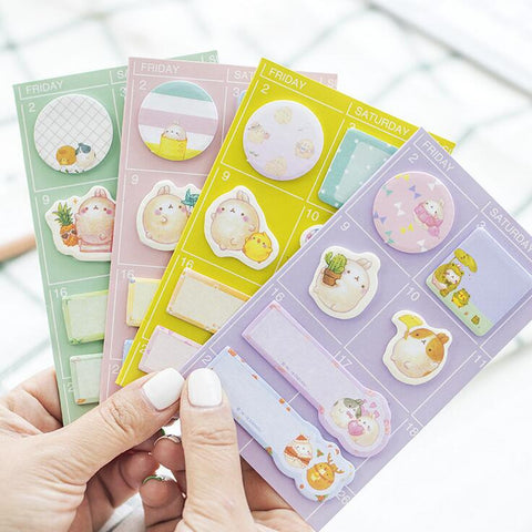 Bunny Sticky Notes - Kute Kico Kawaii Stationery