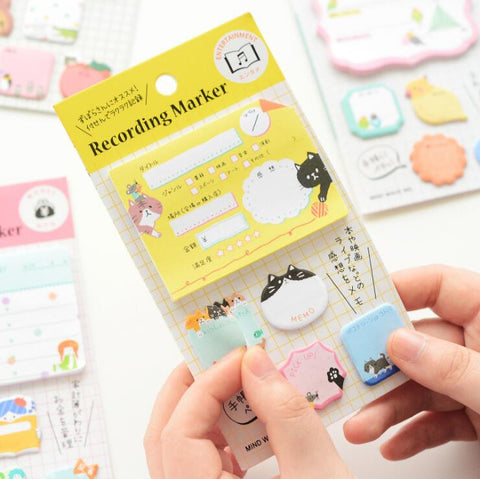 Kawaii Sticky Notes - Kute Kico Kawaii Stationery