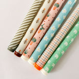 Stripe Cactus Gel Pen Set of 4 - Kute Kico Kawaii Stationery