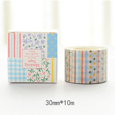Quilt Pattern Washi Tape - Kute Kico Kawaii Stationery