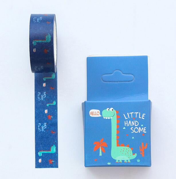 Dinosaur Washi Tape - Kute Kico Kawaii Stationery