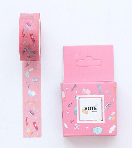 Beauty Washi Tape - Kute Kico Kawaii Stationery