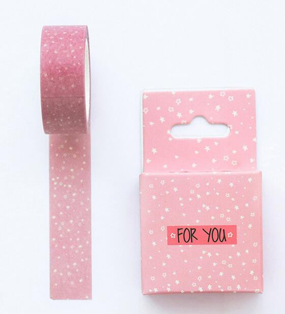 Pink Dot Washi Tape - Kute Kico Kawaii Stationery
