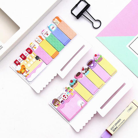 Cake Cat Sticky Note Tabs