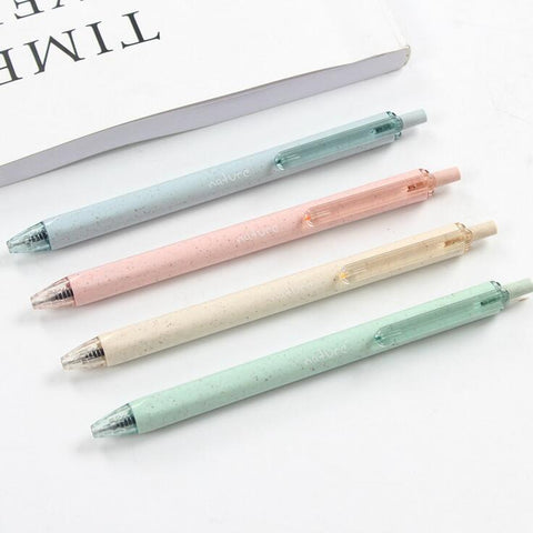 Gel Pen 4 pcs - Kute Kico Kawaii Stationery