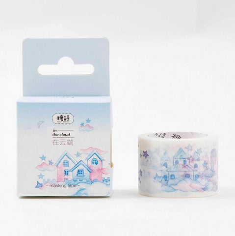Castles Washi Tape - Kute Kico Kawaii Stationery