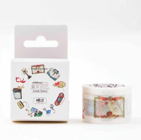 Vintage Appliance Washi Tape
