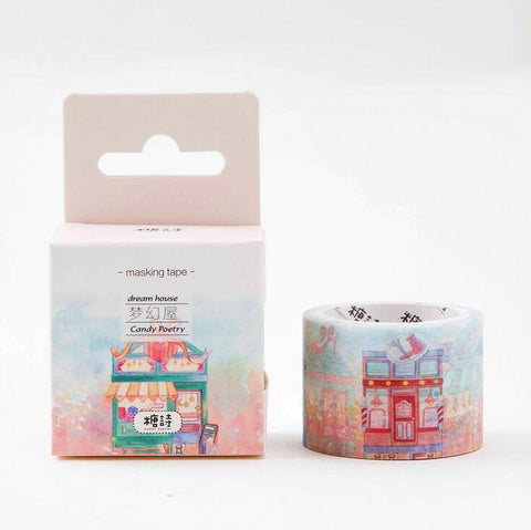 Little Dream House Washi Tape - Kute Kico Kawaii Stationery