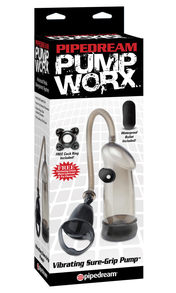 PUMP WORX SURE GRIP PUMP VIBRATING