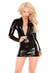 SEXY SIREN DRESS BLACK O/S - Sex Toy Factory - Allure Lingerie