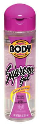 BODY ACTION SUPREME 2.3 OZ - Sex Toy Factory - Body Action Products