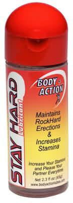 BODY ACTION STAYHARD 2.3 OZ - Sex Toy Factory - Body Action Products