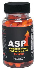 ASP FOR MEN 30PC BOTTLE - Sex Toy Factory - Body Action Products
