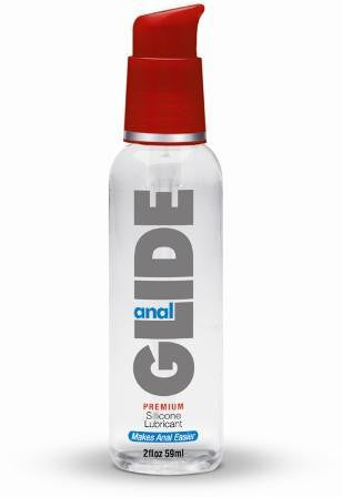 ANAL GLIDE SILICONE LUBRICANT 2OZ PUMP - Sex Toy Factory - Body Action Products