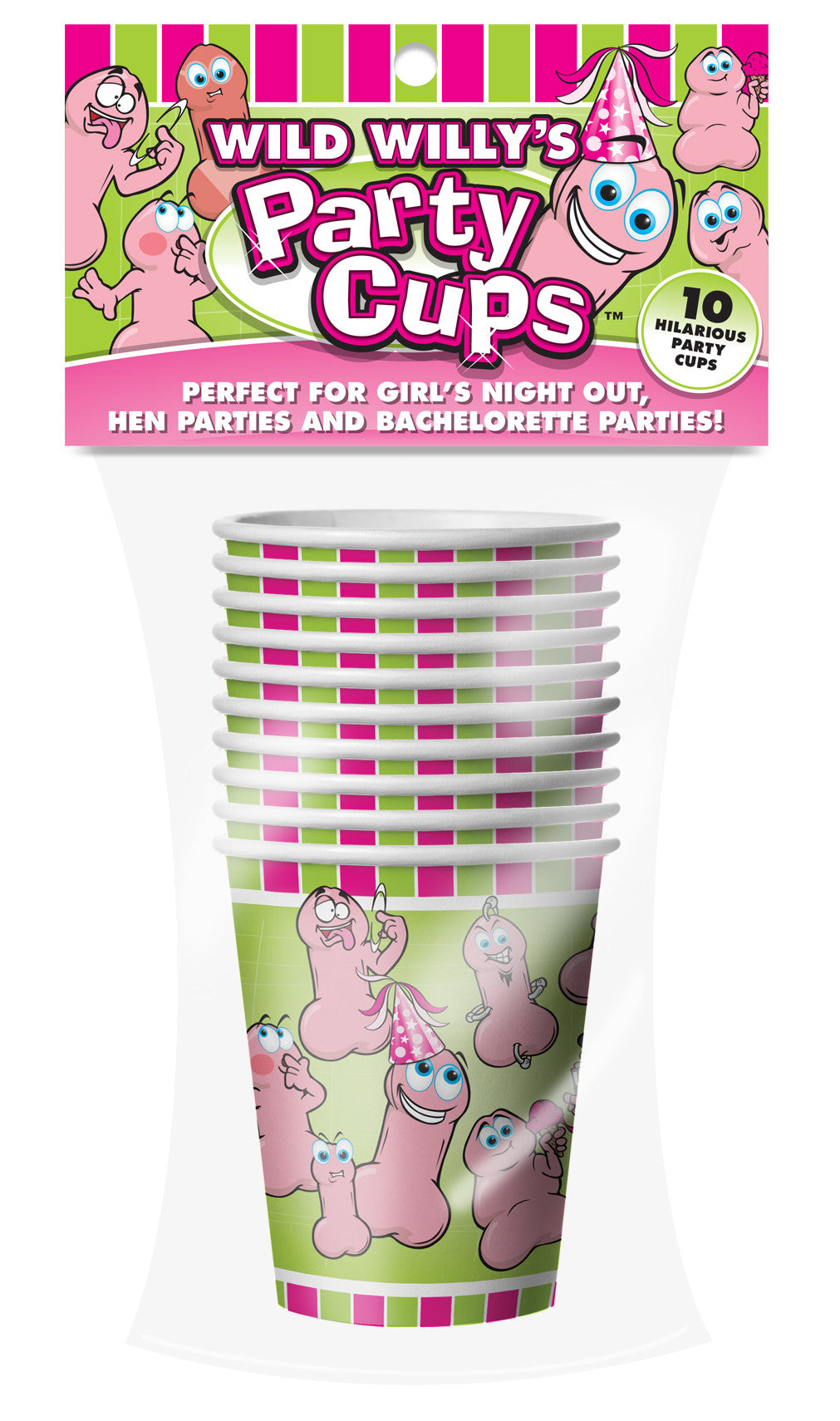 WILD WILLYS PARTY CUPS - Sex Toy Factory - Ball and Chain - 1