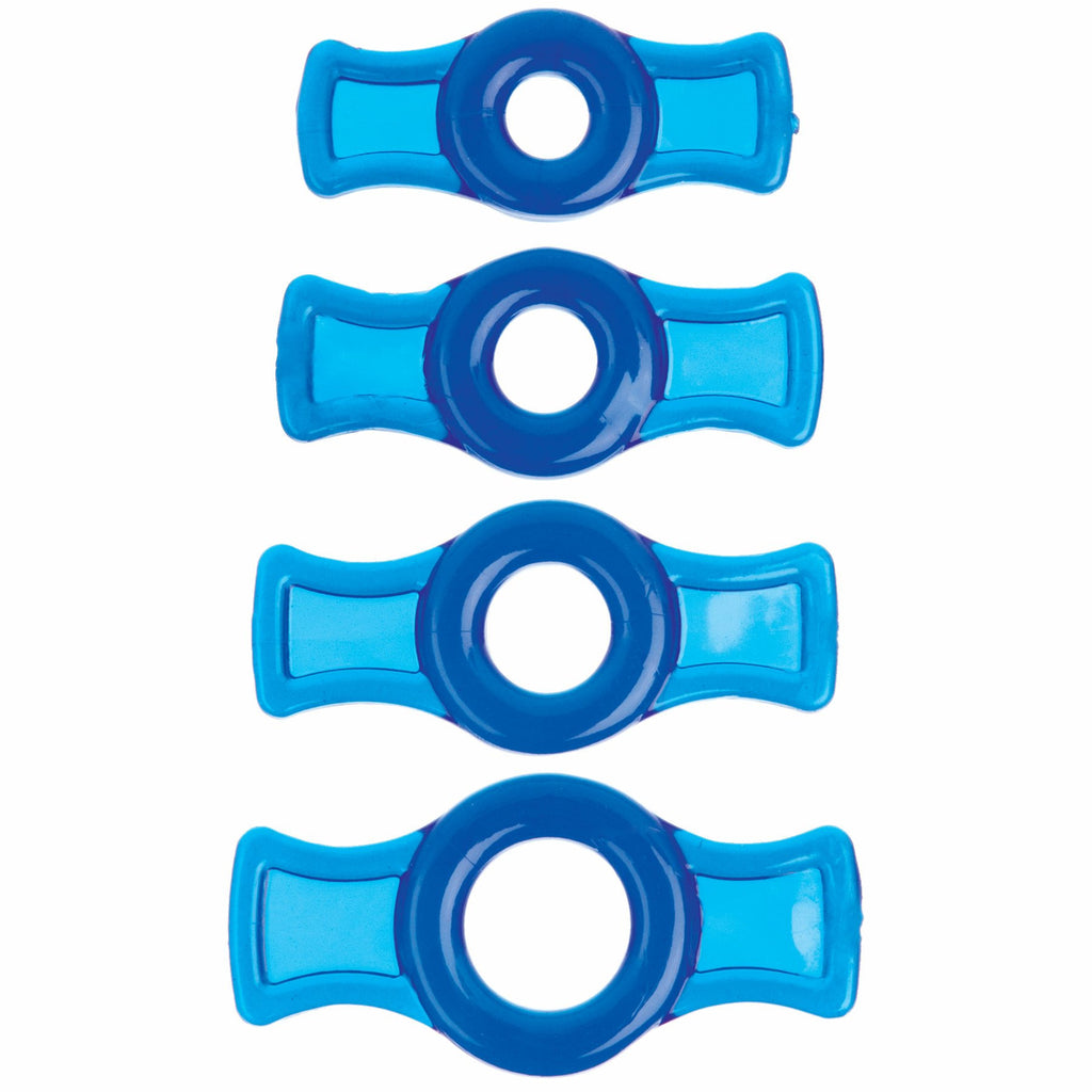 TITANMEN COCK RING SET BLUE CD