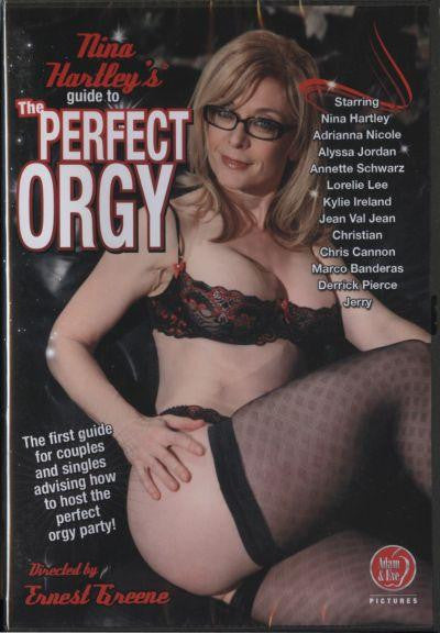 NINAS GUIDE TO THE PERFECT ORGY -DVD