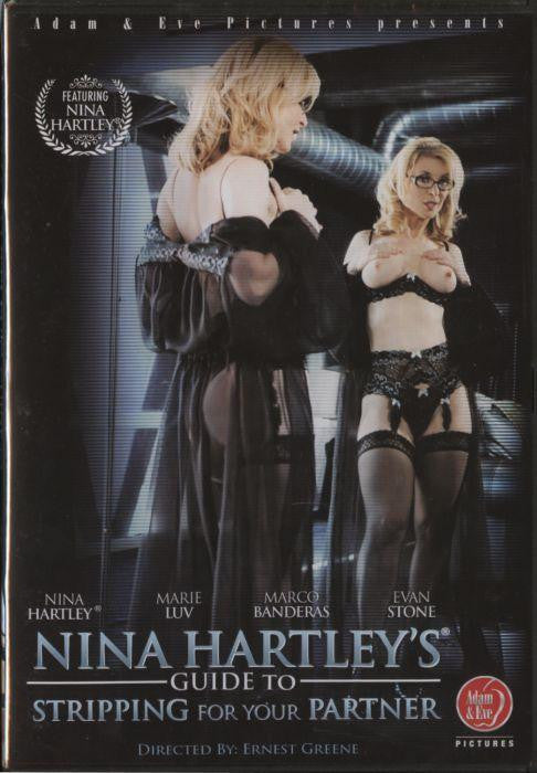NINAS GUIDE TO STRIPPING FOR YOUR PARTNER -DVD
