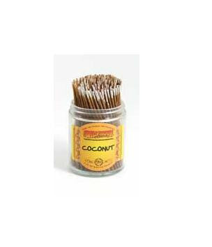 WILDBERRY INCENSE COCONUT 100PCS