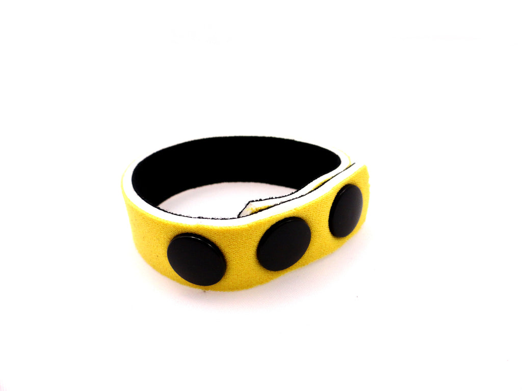 RING NEOPRENE 3 SNAP 5/8IN YELLOW