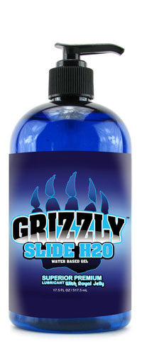 GRIZZLY H20 SLIDE SUPERIOR PREMIUM LUBRICANT 17.5 OZ