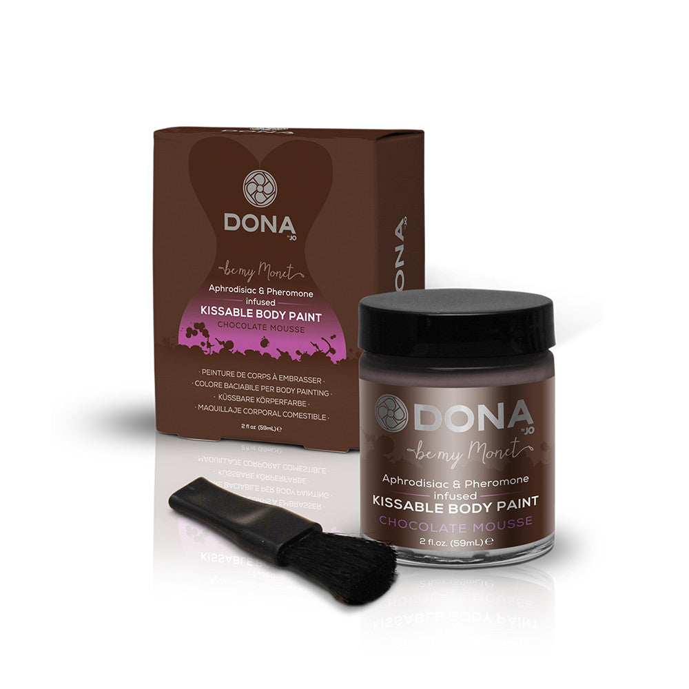 DONA BODY PAINT CHOCOLATE MOUSSE 2.OZ