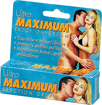 ULTRA MAXIMUM ERECTION CREAM .5OZ
