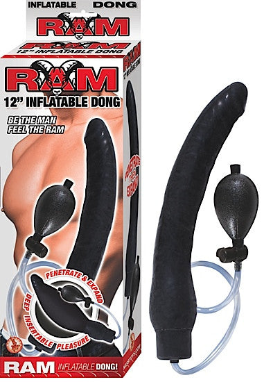 RAM 12IN INFLATABLE DONG BLACK
