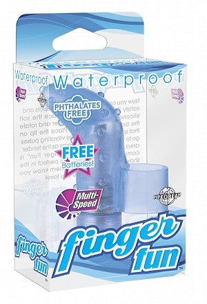 WATERPROOF FINGER FUN BLUE