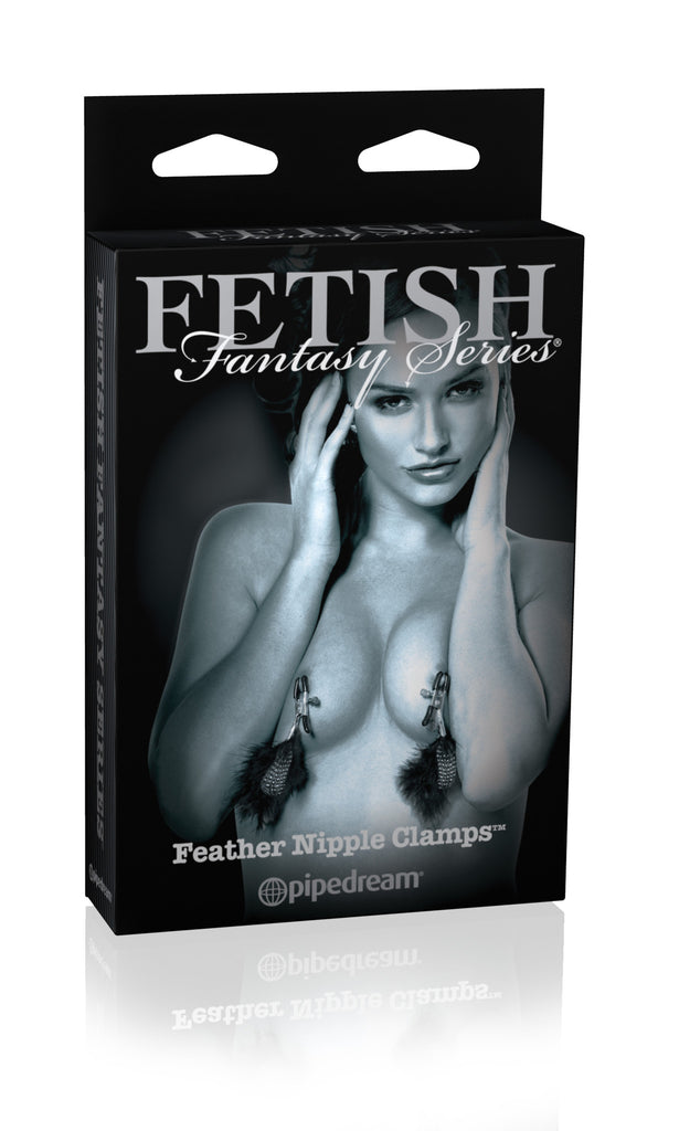 FETISH FANTASY LIMITED EDITION FEATHER NIPPLE CLIPS