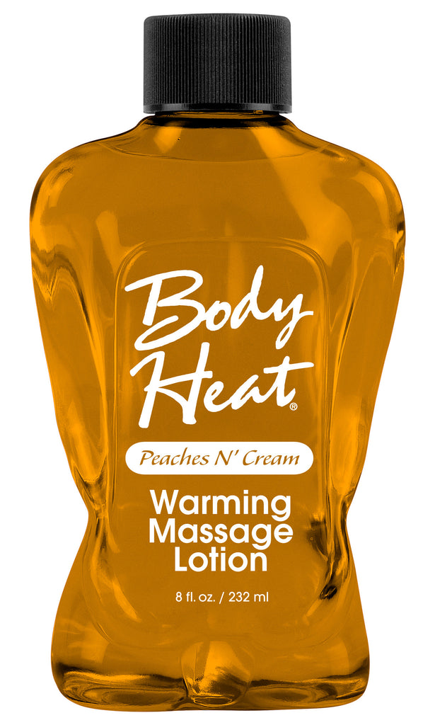 BODY HEAT WARMING MASSAGE LOTION P eachES/CREAM