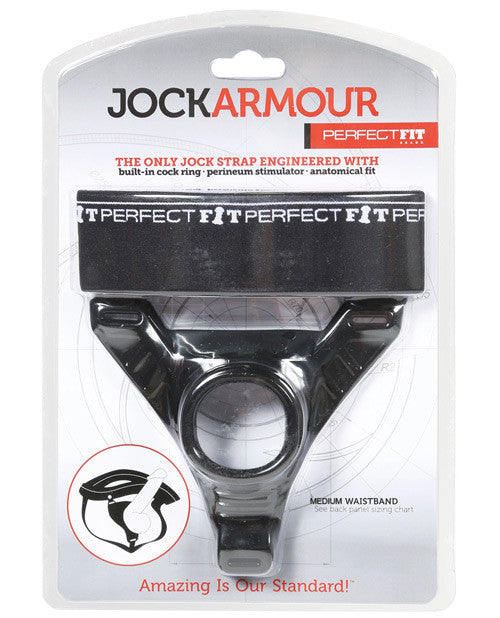 JOCK ARMOUR MEDIUM BLACK