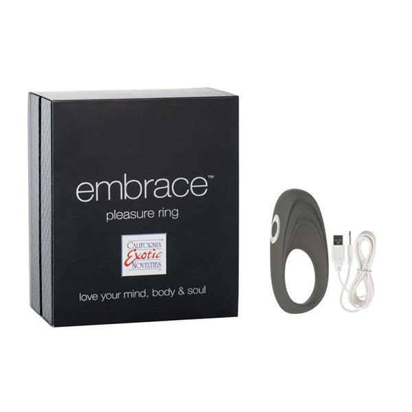 EMBRACE PLEASURE RING GREY