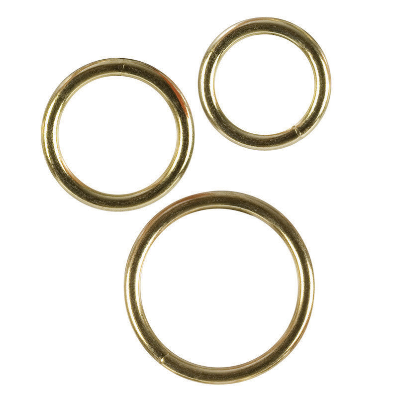 GOLD RING 3 PIECE SET