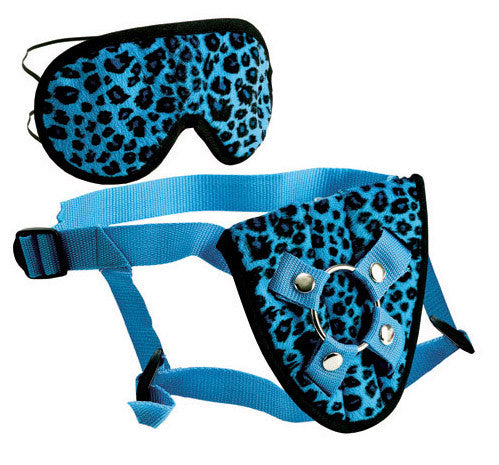 FURPLAY HARNESS and MASK BLUE