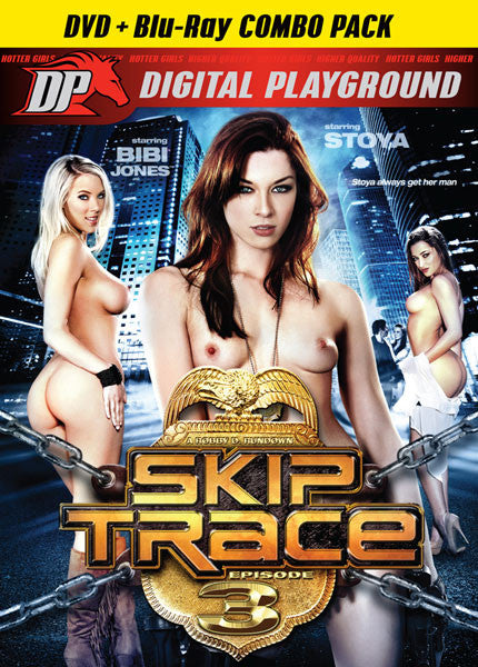 SKIP TRACE - DVD + BLU RAY COMBO PACK