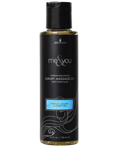 ME and YOU MASSAGE OIL VANILLA SUGAR.SWEET PEA