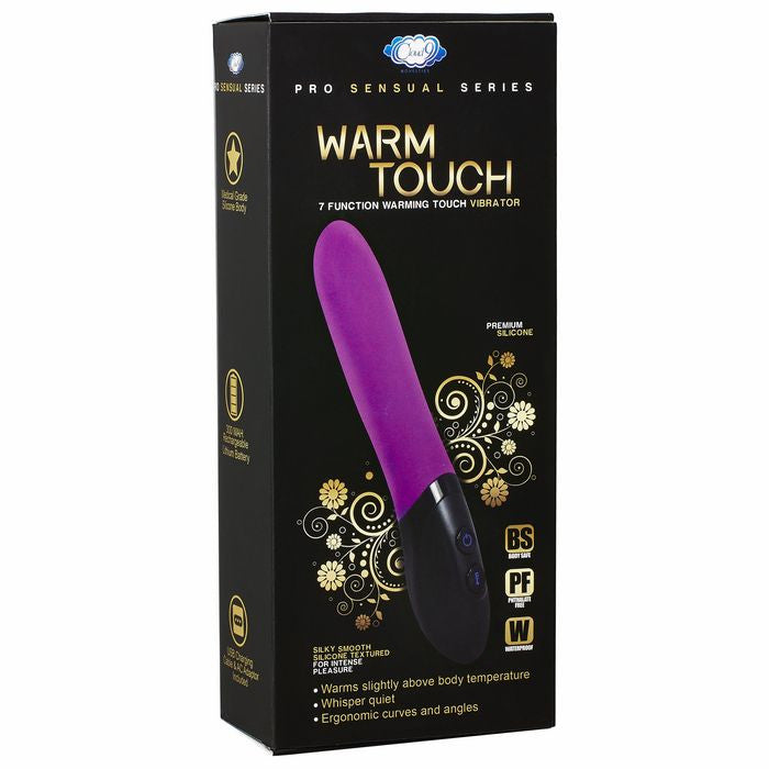 CLOUD 9 PRO SENSUAL WARM TOUCH PURPLE