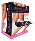 PINK PRIVATES CREAM 50PC DISPLAY - Sex Toy Factory - Body Action Products