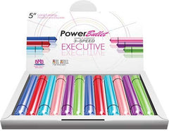 POWER BULLET 5IN DISPLAY 12PCS - Sex Toy Factory - BMS Enterprises