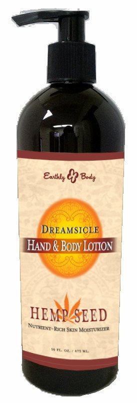 HAND  and  BODY LOTION VELVET DREAMSICLE 16 OZ